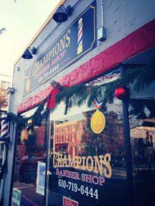 Champions Barber Shop (Chestnut St) logo