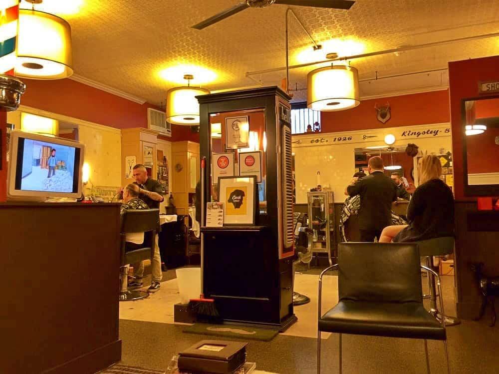 Groom Barbershop logo - MadeKnown MadeKnown