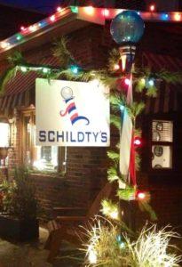Schildty's Barber Shop outside