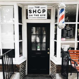 The Shop on the Ave entrance