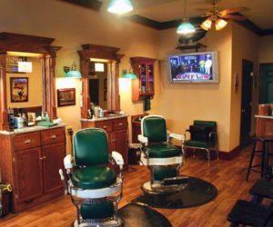 VanRyn's Barber Shop inside